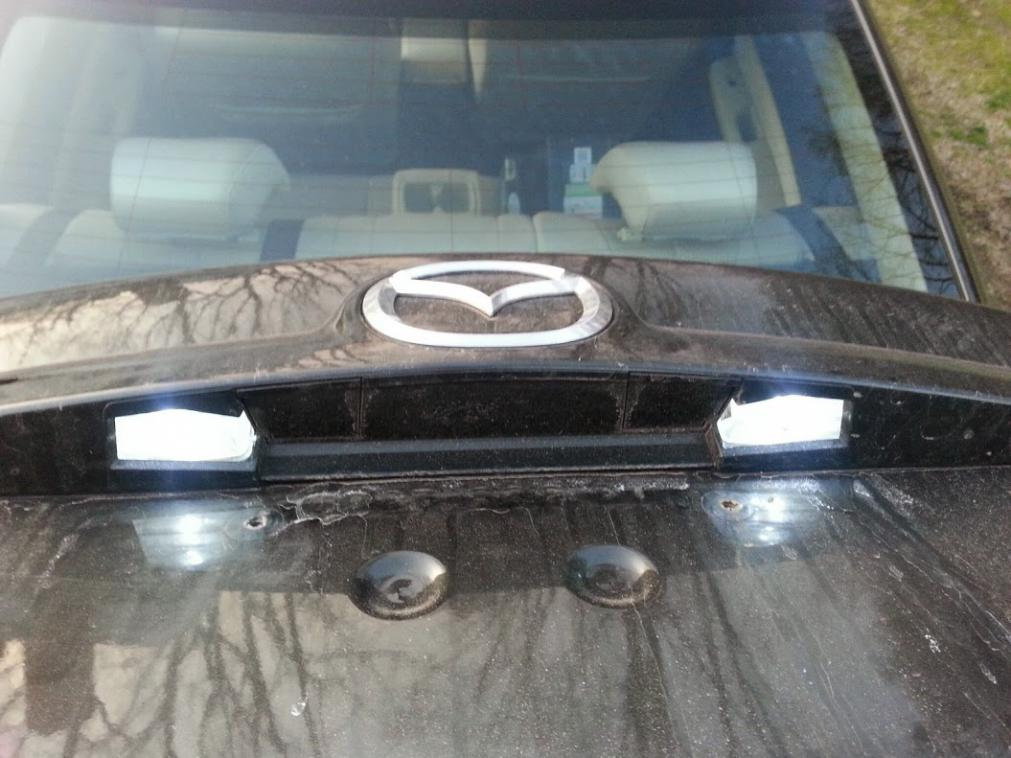 DIY Changing the License Plate Lights  Page 2  Mazda 6