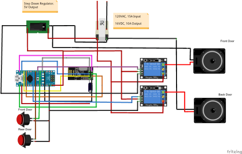 small resolution of 2 door chime wiring schematic