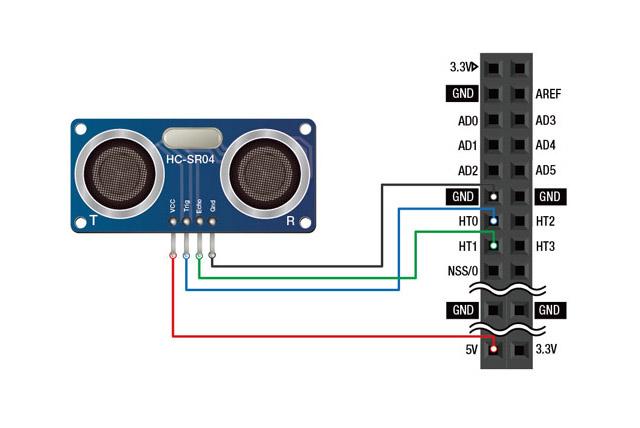 Ultrasonic Sensor Circuit Diagram Free Download Wiring Diagram