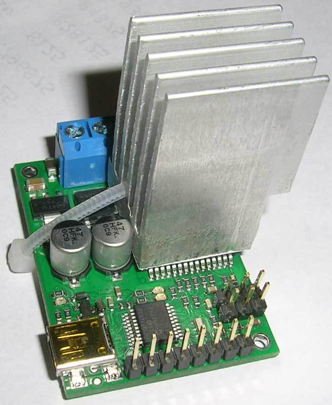 Jrk 12v12 Heatsink Motor Controllers Drivers And Motors