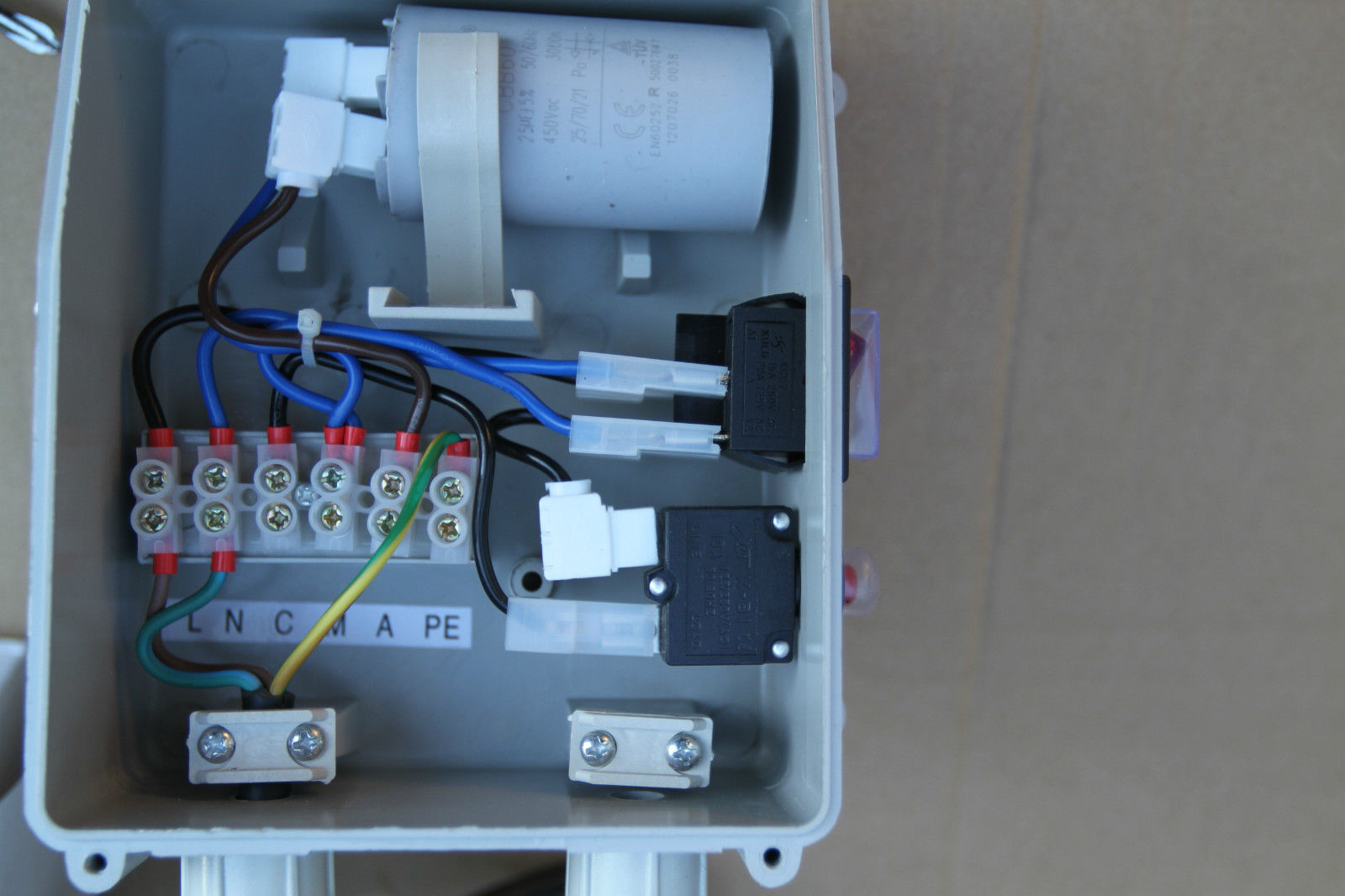 Wiring Diagram Submersible Pump Control Box