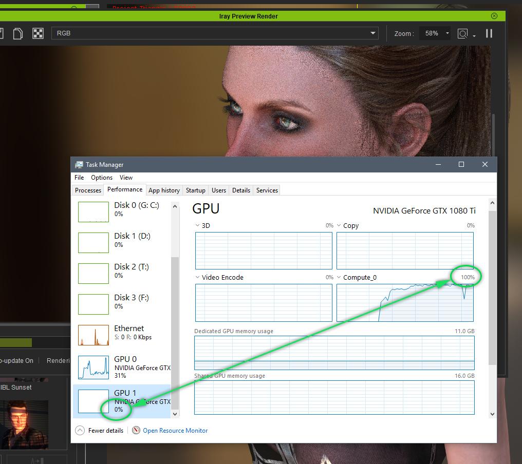 Usage of GPU