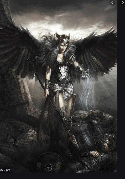 Angel Girl And Skulls Wallpaper I Want An Aasimar I Don T Wanna Buy It Simple