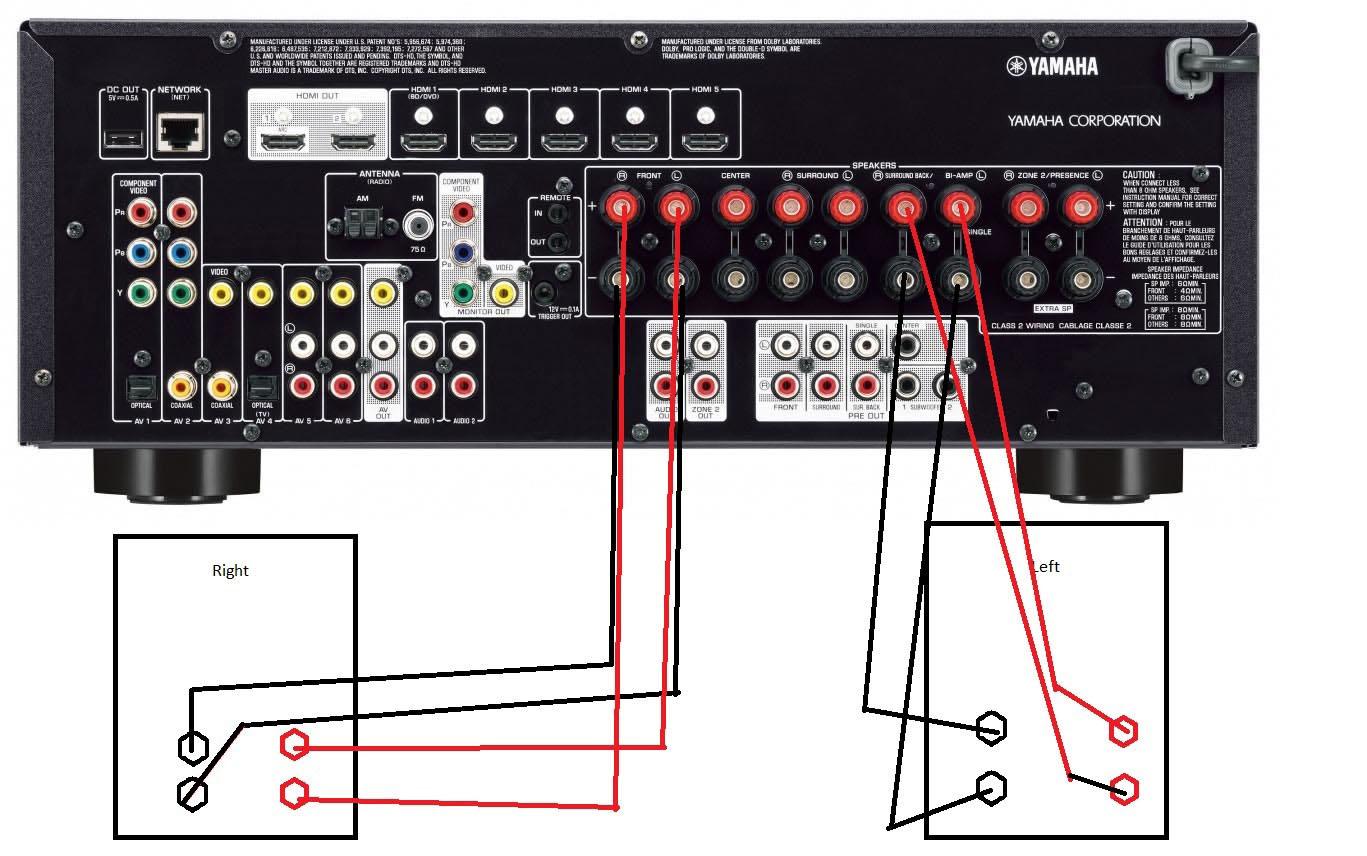 bi amp wiring diagram honda xrm 125 headlight setup odicis