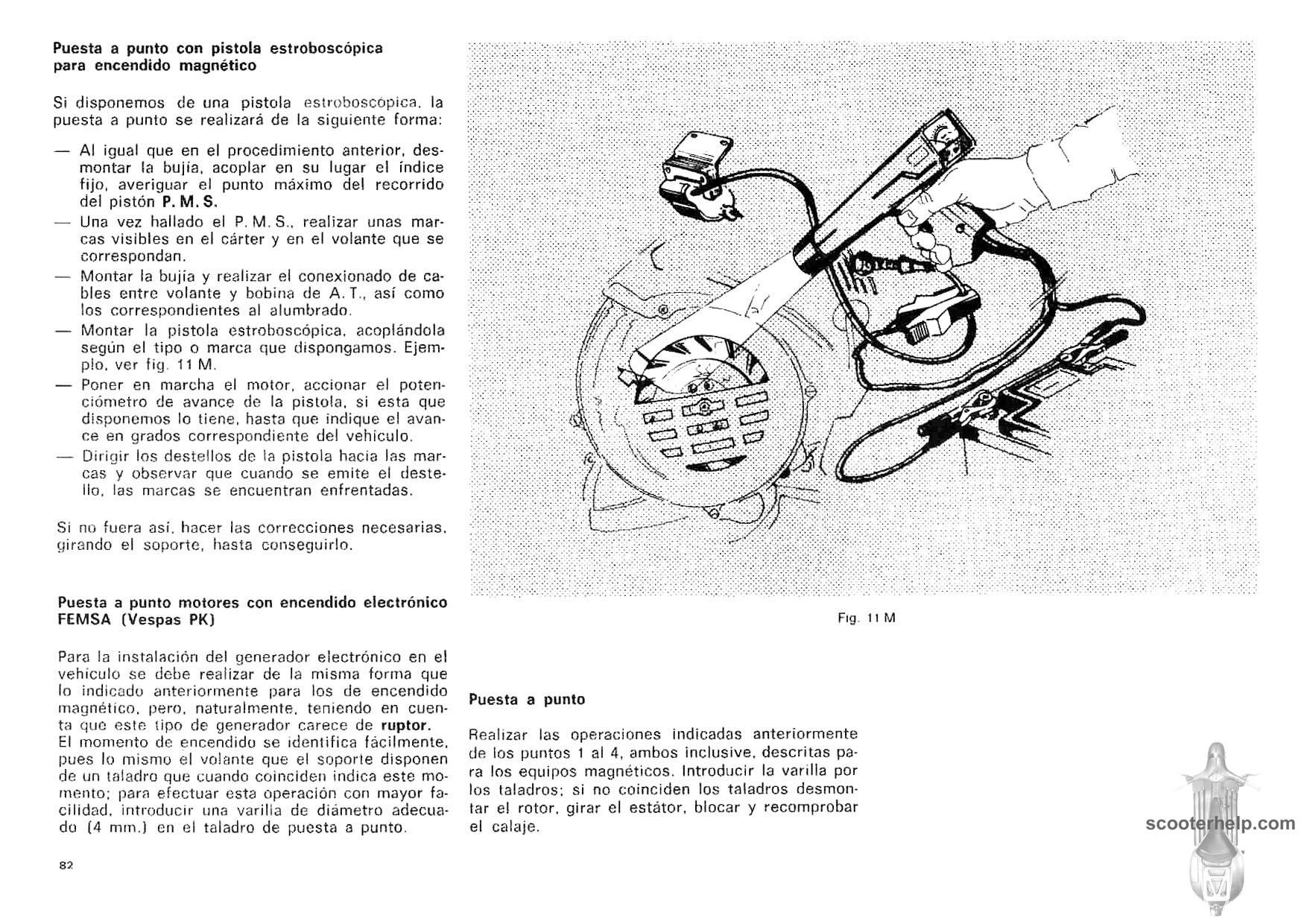 MotoVespa PK Factory Repair Manual