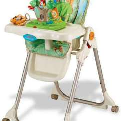 Fisher Price Rainforest Healthy Care High Chair 2 Wobble Canada