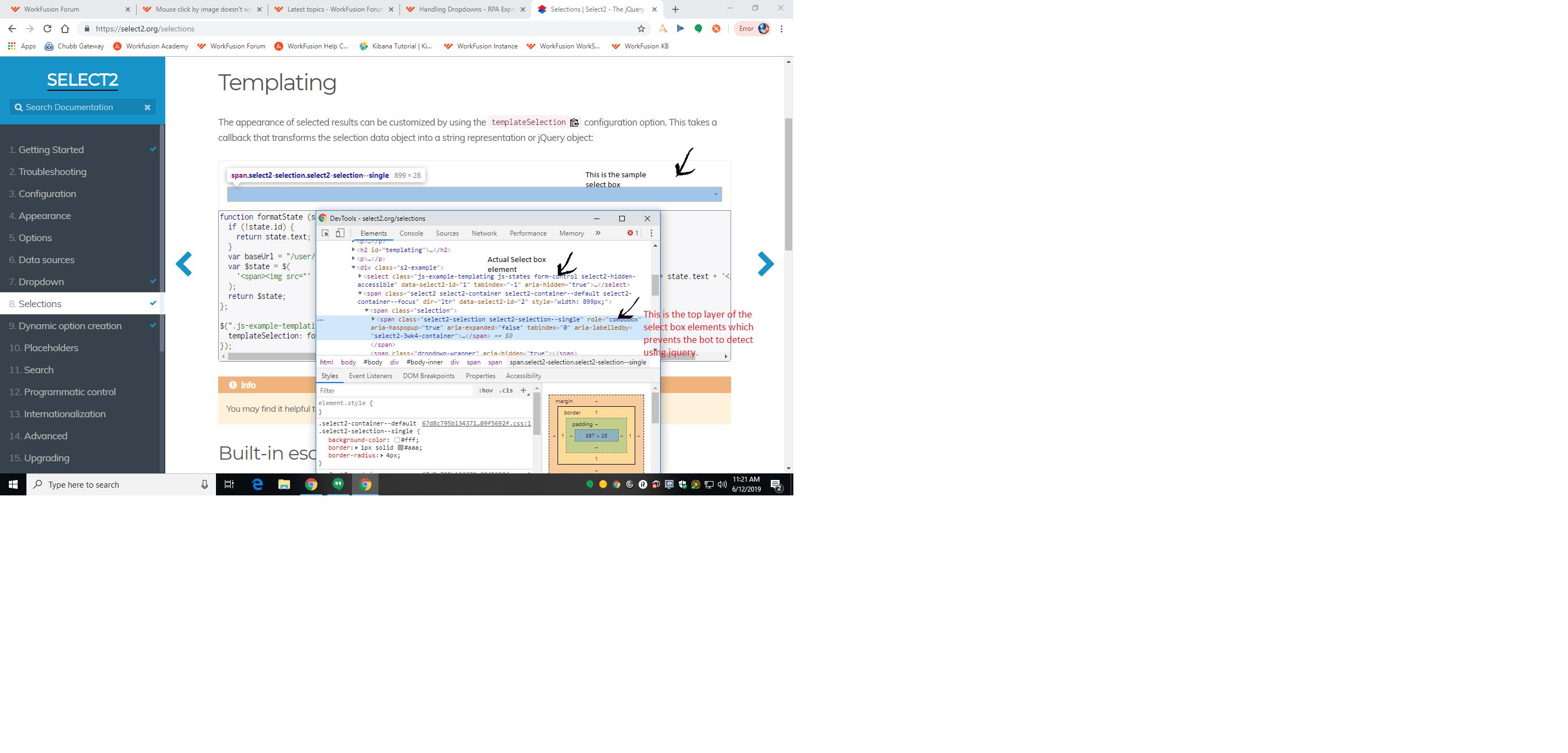 Drop Down Vs Select Box