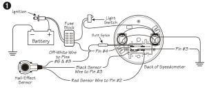 VDO Speedometer and ETB sensor  The Start Line  WSCC