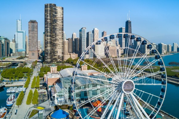 Navy Pier In Chicago Dji Forum