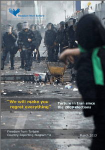 Freedom from torture Iran report