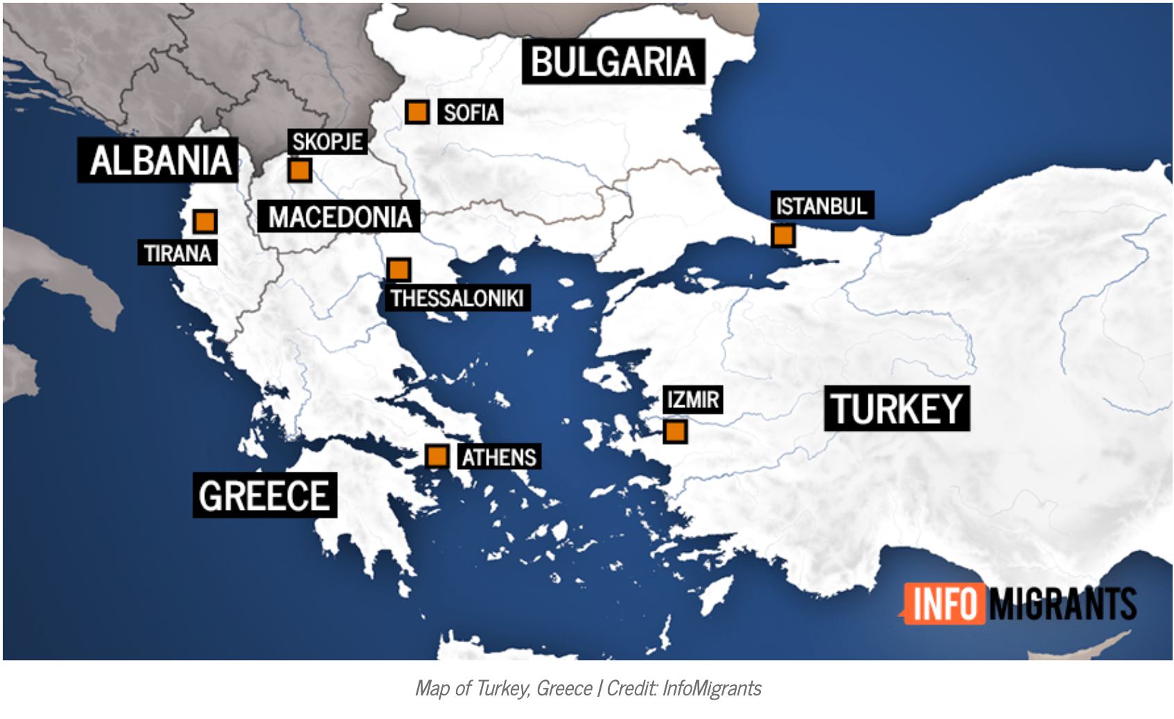 Precarious situation in Turkey drives refugees to Greece — InfoMigrants