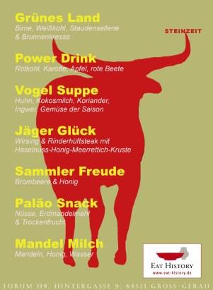 Steinzeit EAT HISTORY petsign