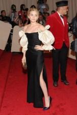 Ashley Olsen, in vintage Dior Couture, with Van Cleef & Arpels jewels.