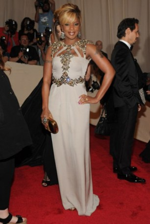 Mary J. Blige, in Gucci
