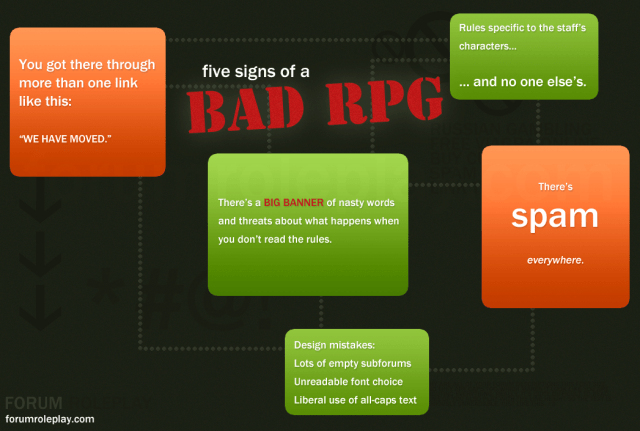 Five signs of a bad-rpg