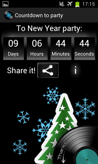 [FREE APP] Countdown to party - Android Forums at AndroidCentral.com