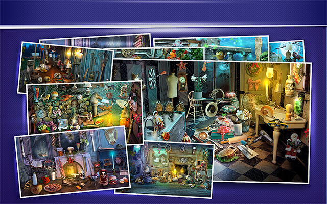 NEW GAME Hidden Objects Haunted House  play the