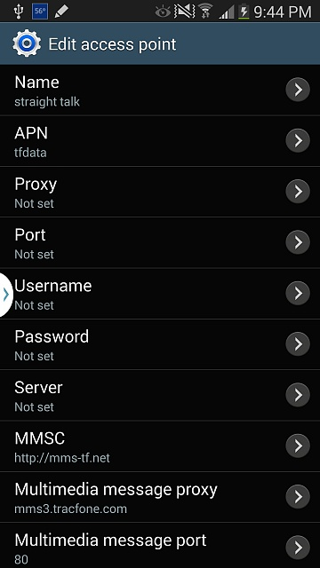 Verizon Note 3 On Straight Talk Not Able To Use MMS Android Forums At