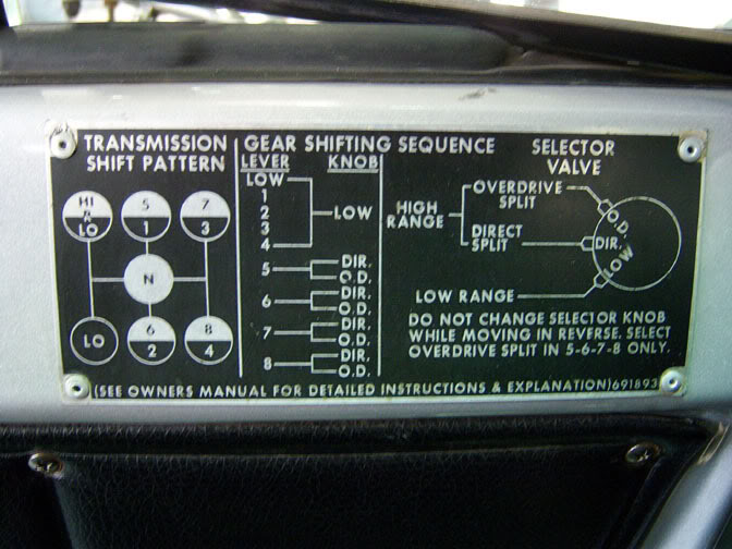eaton fuller transmission diagram american standard electric furnace wiring chrome shift levers back in the day?