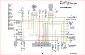 2004 Arctic Cat 400 wiring diagram  ATVConnection ATV