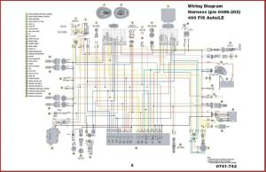 2004 Arctic Cat 400 wiring diagram  ATVConnection ATV