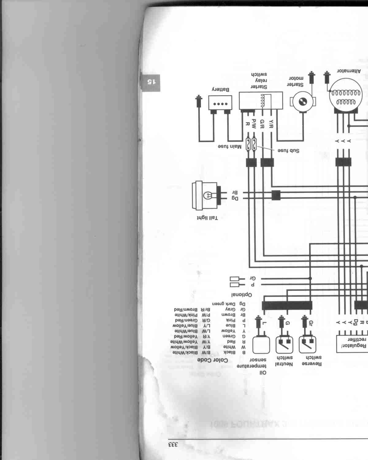 hight resolution of 1988 honda fourtrax 300 wiring diagram