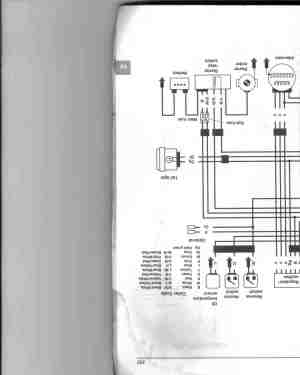 trx300 wiring diagram needed  ATVConnection ATV
