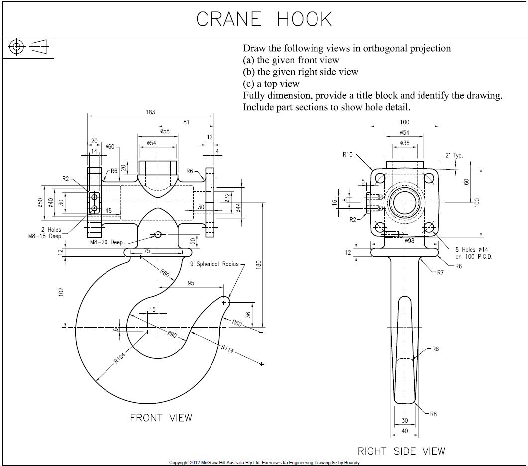 Help, how can I create a 3d model this crane hook
