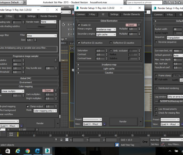 Solved Too Much Noise White Spots In Ds Max Vray Render Autodesk Community Ds Max