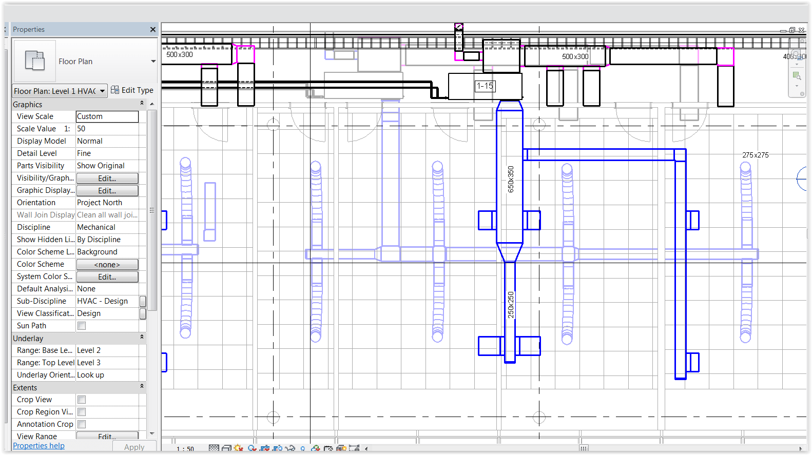 medium resolution of duct not showing in architectural model autodesk community revit products