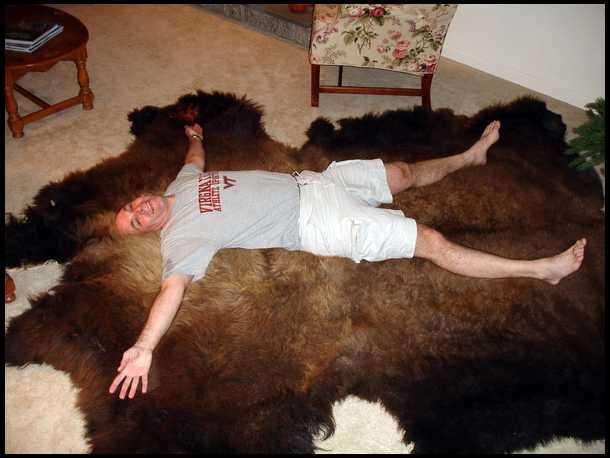 Bison kill zone