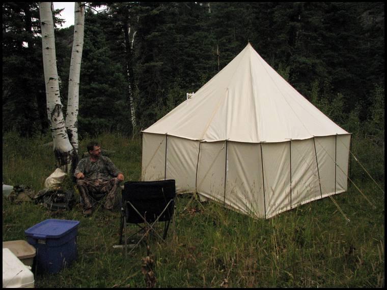 Spike Tent options.