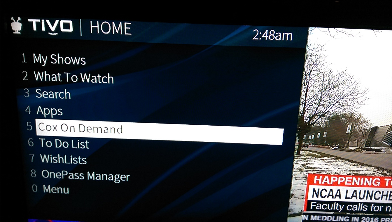 hight resolution of on the host dvr make sure cox ondemand is checked in add manage apps