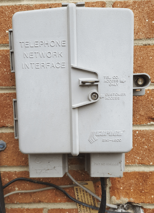 Wiring Diagram For Network Cable Exterior Telephone Cable Removal Phone Phone Forum