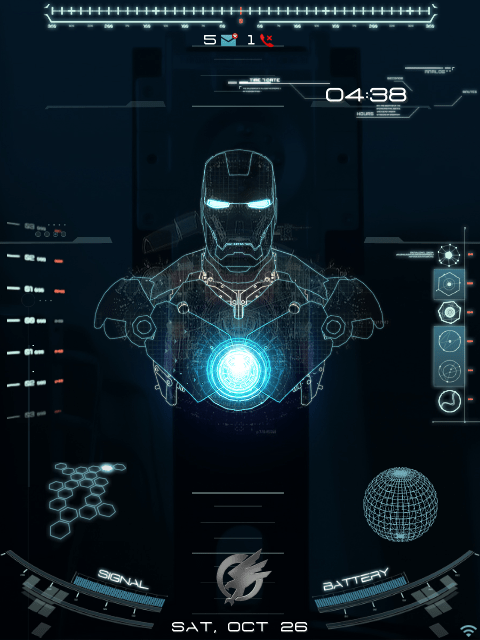 Home Screen Wallpaper Iphone X Premium Animated Jarvis Theme Blackberry Forums At