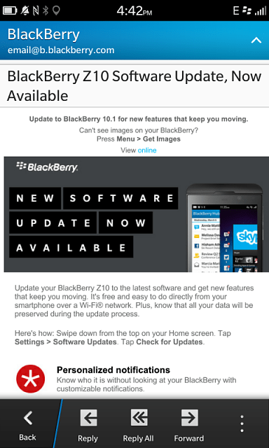 BlackBerry Z10 Software Update. Now Available - BlackBerry Forums at CrackBerry.com