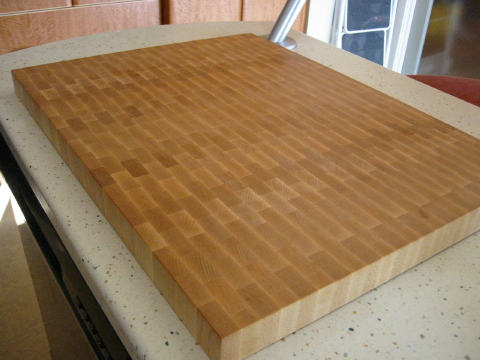 Linseed Oil Cutting Board