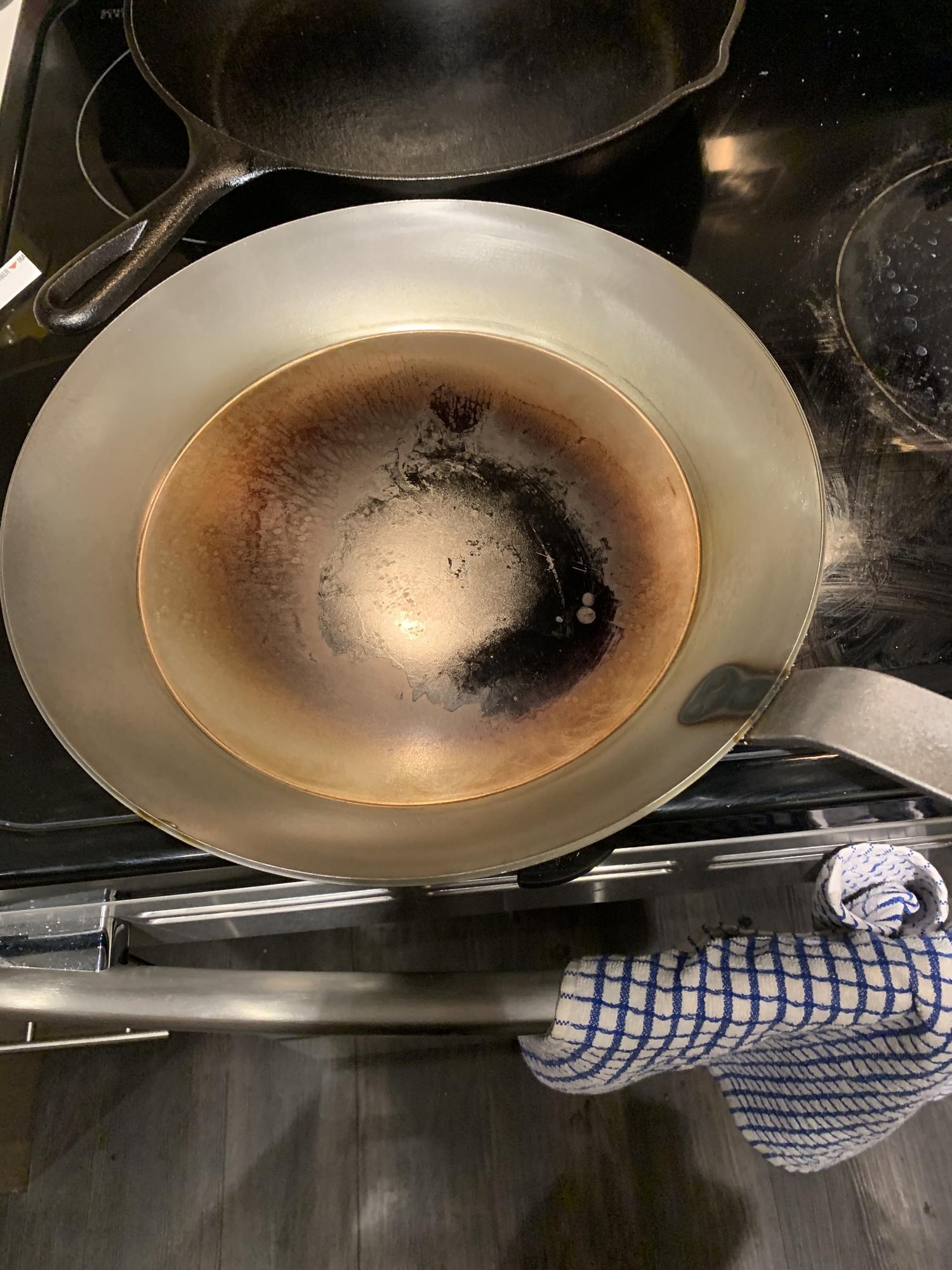 seasoning carbon steel kitchen