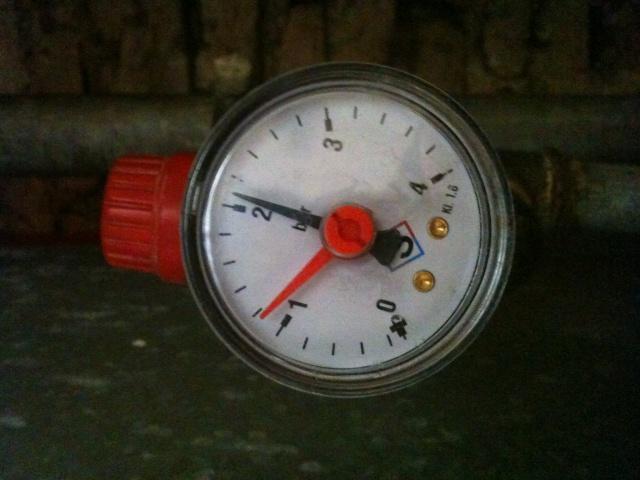 pression chauffage central au fioul