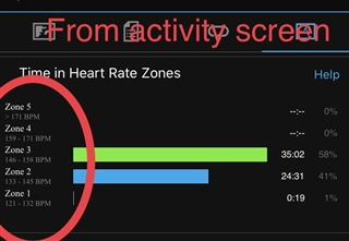 Max Heart rate is different in my watch and in Garmin ...