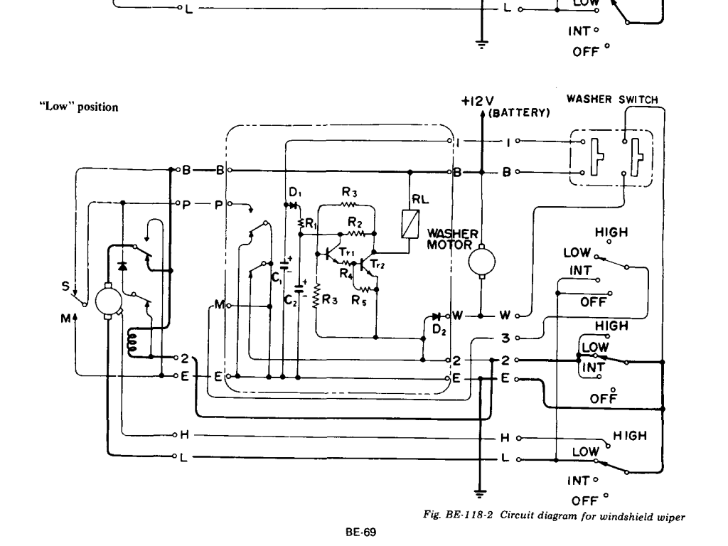 hight resolution of understanding the 260z and 280z wiper circuit reverse polarity park 280z wiper diagram