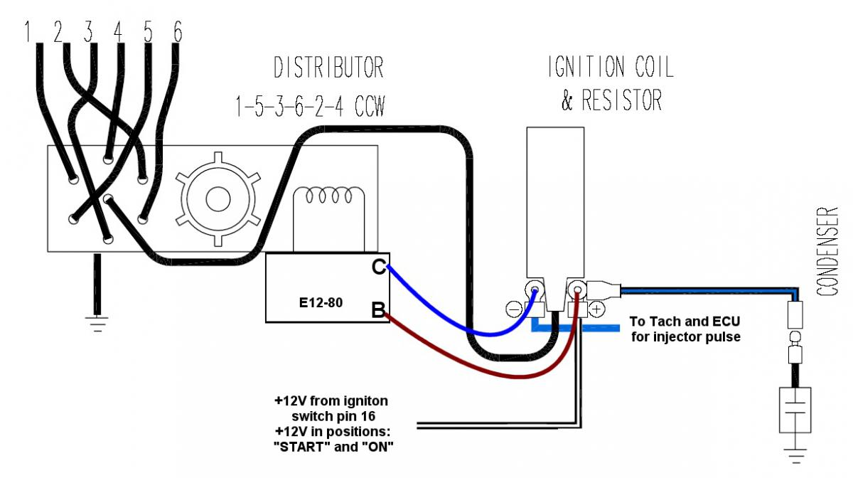 Msd to 83 dist w/ 75 wiring. Please double check my wiring