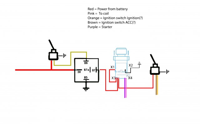 Push button start with ACC toggle, Need edumacation