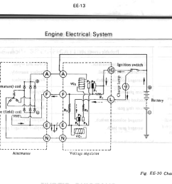 charge system wiring diagram 240z schematics wiring diagrams 1972 datsun  [ 1063 x 778 Pixel ]