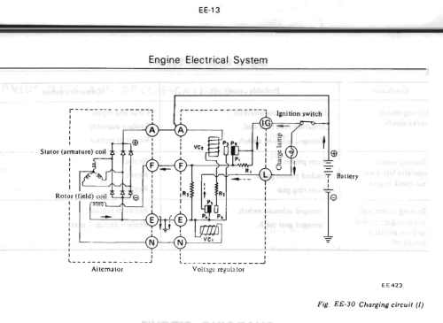 small resolution of charge system wiring diagram 240z schematics wiring diagrams 1972 datsun