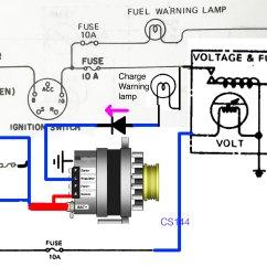 Cs144 Alternator Wiring Diagram Gmc Tail Lights Library
