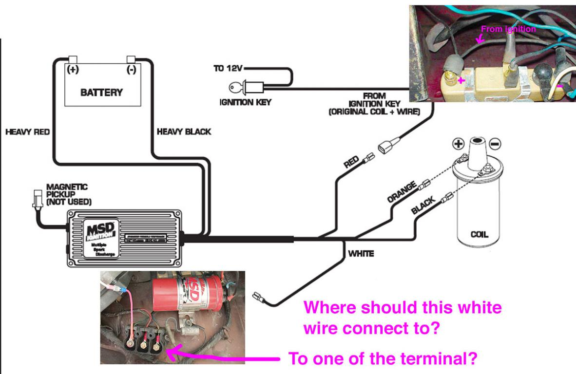 hight resolution of msd6al with 280z 75 wiring question ignition and electrical hybridz msd wiring diagram 280zx