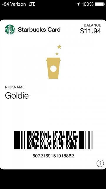 [GUIDE] How to Get Your Starbucks Card to Display on Your