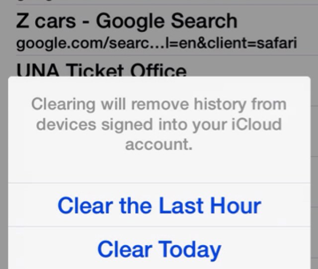 Guide How To Selectively Clear Your Safari Browsing History Imageuploadedbytapatalk1412224189 197681