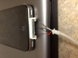 Iphone 4 charger picture  iPhone, iPad, iPod Forums at